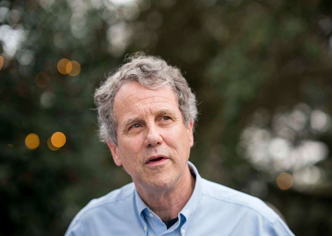 Sen. Sherrod Brown (D-Ohio) in Summerville, S.C., on March 2