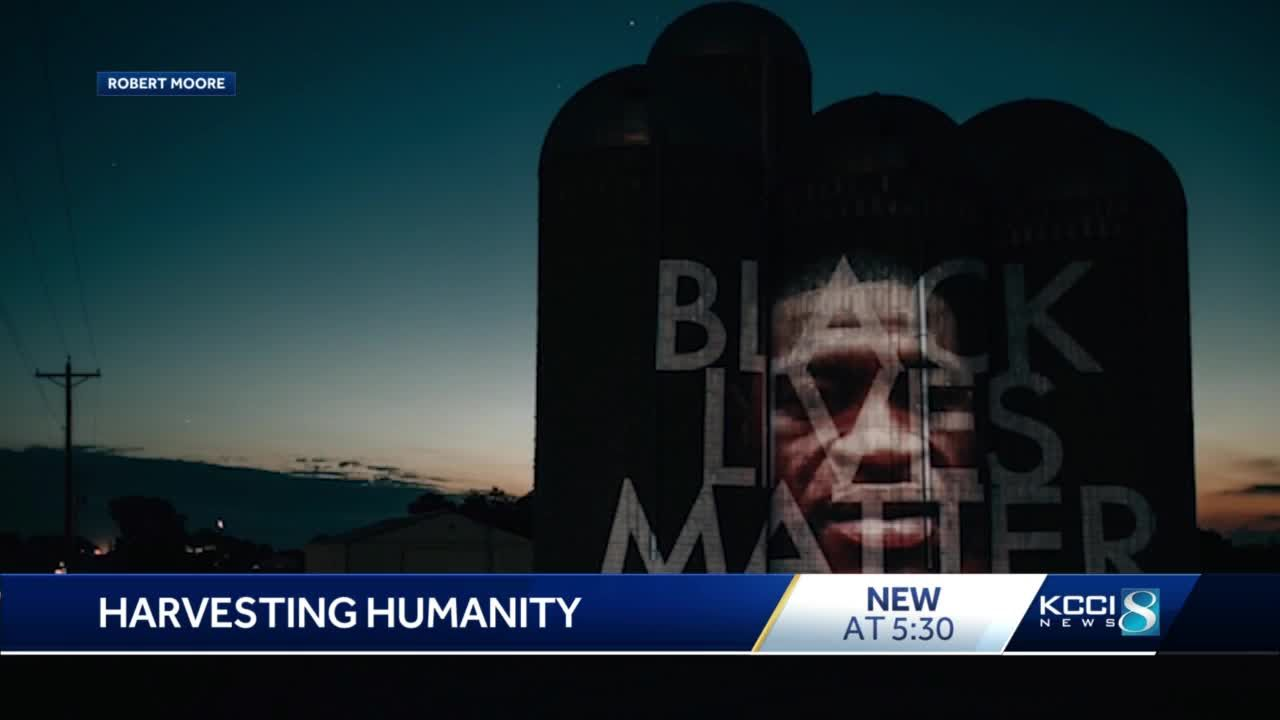 """""""Harvesting Humanity"""" by Robert Morre (photo courtesy of KCCI)"""